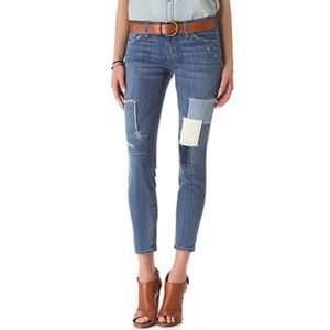 Current/Elliot | Stiletto Panhandle Patchwork Jean
